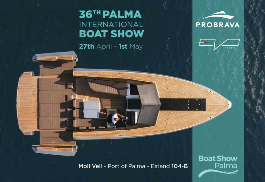 invito Evo Yachts Palma Boat Show
