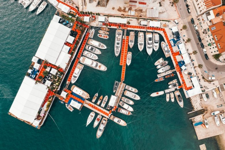evo 43 at Croatia boat show